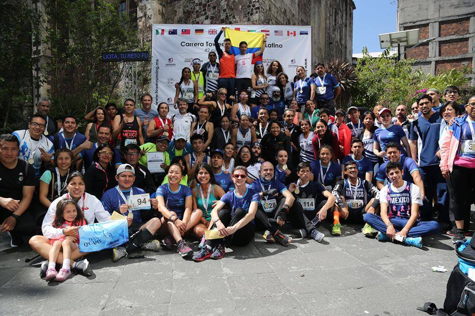 Carrera Towerrunning Challenge Torre Latino – Mexico City – Jun 3