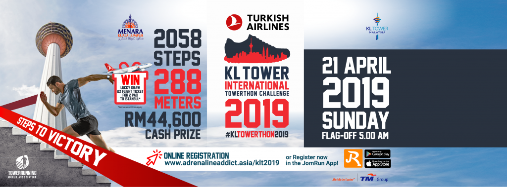 Top 5 – KL Tower International Towerthon – Menara Tower – Kuala Lumpur – April 21