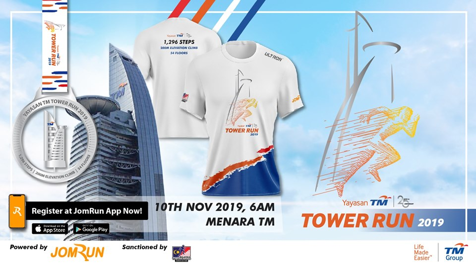 Towerrunning 120 – Yayasan TM International Tower Run – Kuala Lumpur – November 10, 2019
