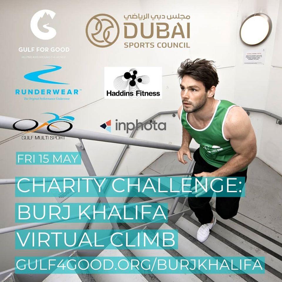 Charity Challenge Burj Khalifa Virtual Climb